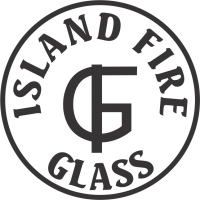 Island Fire Glass