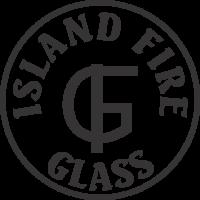Island Fire Glass